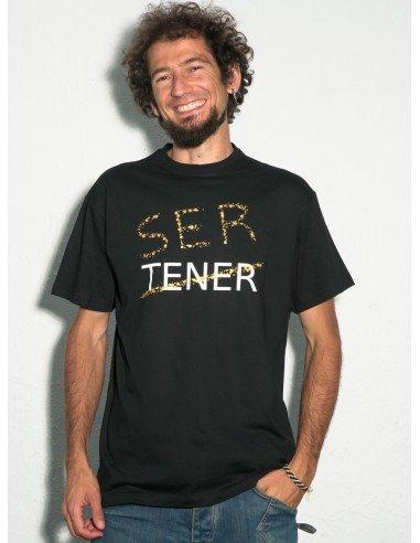 Camiseta Ser / Tener (algodón ecológico)