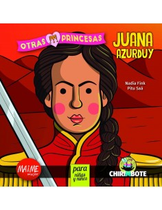 Juana Azurduy para niñas y niño