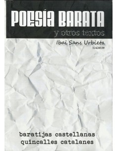 Poesía barata y otros textos
