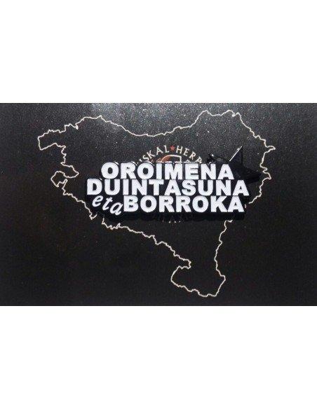 Pin antifascista: Oroimena, duintasuna eta borroka