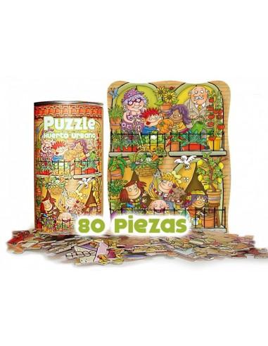Puzzle Huerto urbano
