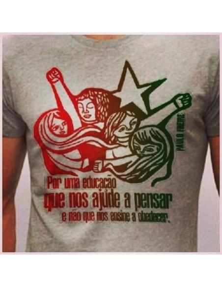 Camiseta Paulo Freire