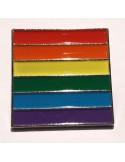 Pin LGBTIQ cuadrado