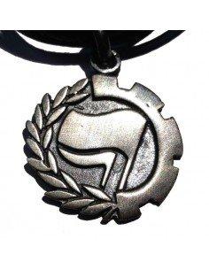 Colgante Antifascista (de plata)