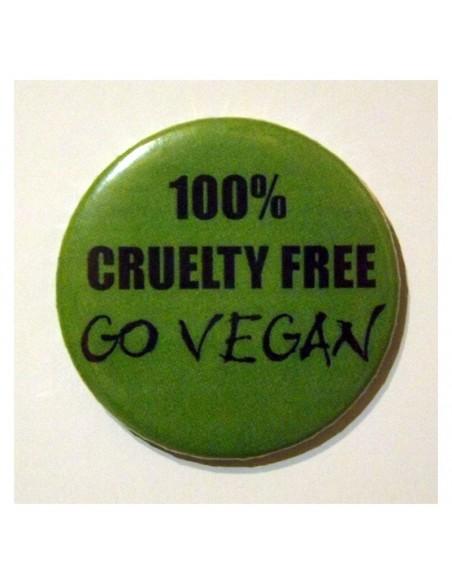 Imán 100% Cruelty Free - Go Vegan