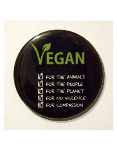 Imán Vegan for 5 reasons