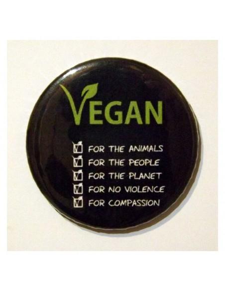 Imán Vegan for 5 reasons