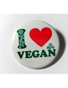 Imán I love Vegan