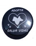 Chapa Adopta Salva vidas