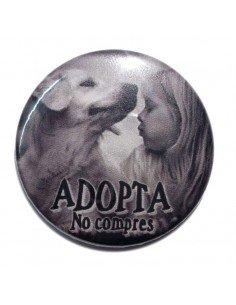Imán Adopta no compres