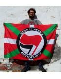 Ikurriña Euskal Herria Antifaxista