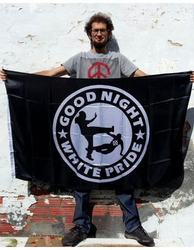 "Bandera ""Good night White Pride"""