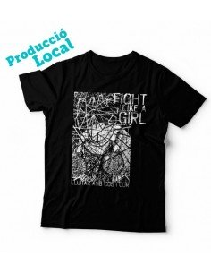 "Camiseta ""Fight like a girl"""