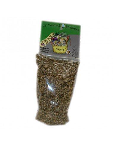 Menta ecológica granel 50 grs