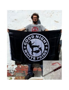 "PACK Bandera ""Good night White Pride"