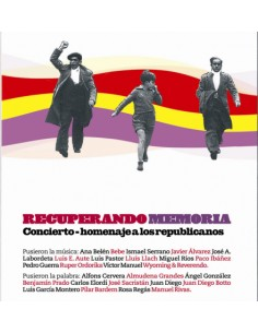Concierto-homenaje a los republicanos DVD