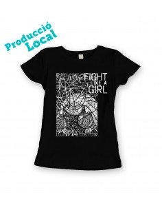 "Camiseta ""Fight like a girl"""