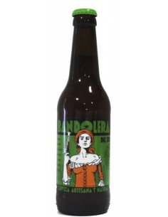 """Cerveza Bandolera Verea """"ecológica"""""""