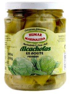 Alcachofas en aceite Marinaleda