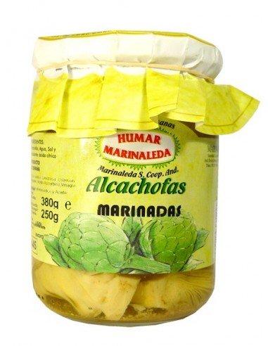 Alcachofas marinadas Marinaleda