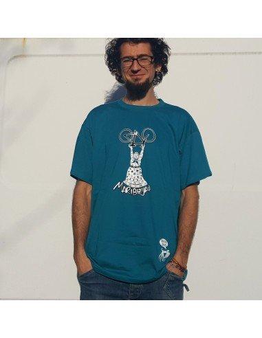 Camiseta azul turquesa chico Biziz Bizi