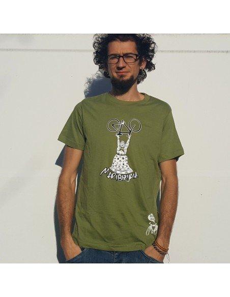 Camiseta Biziz Bizi Mari Jaia (verde)