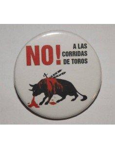 Chapa No a las corridas de toros