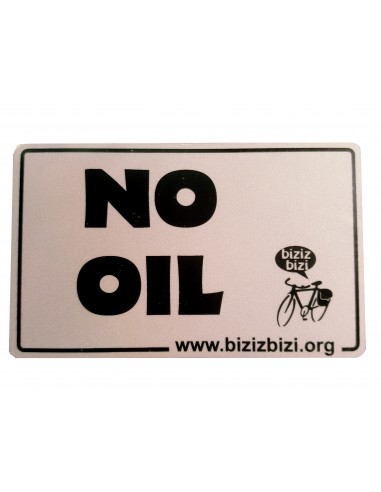 "Chapa Biziz Bizi ""No Oil"""