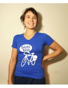 Camiseta azul Biziz Bizi