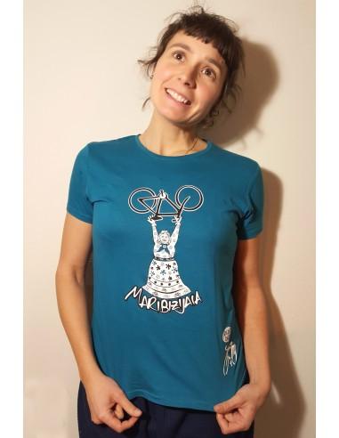 Camiseta azul turquesa Biziz Bizi