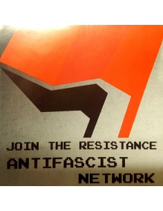 Pegatina Join the resistance antifascist network