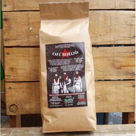 Café zapatista en grano