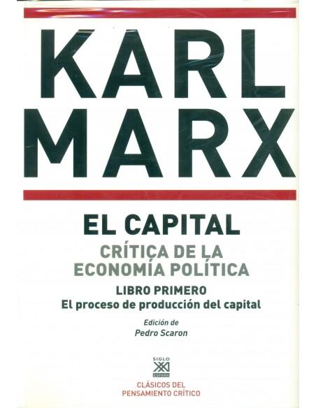 El capital 3 Vols. critica de la economía política