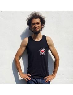 Camiseta sin manga Euskal Herria Antifaxista con laurel