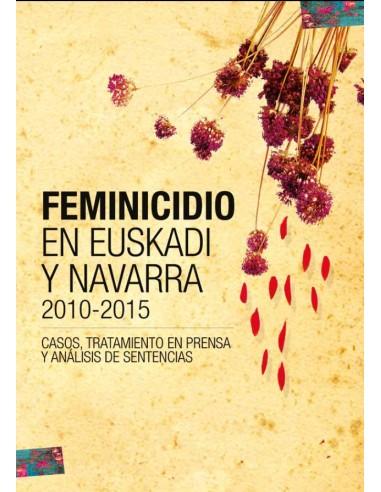 Feminicidio en Euskadi y Navarra.