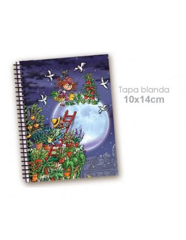 Cuaderno Huerto hasta en la luna