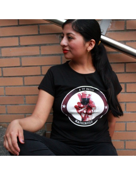 Camiseta A tu salud machirulo