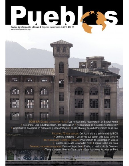 Revista Pueblos 77 - Segundo cuatrimestre de 2018