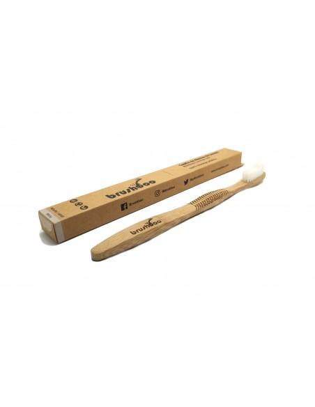 Cepillo de dientes de bambú Adulto