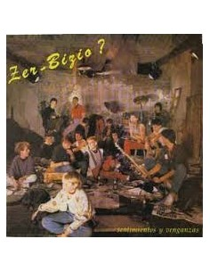 Zer Bizio. Sentimiento y vengaza - CD