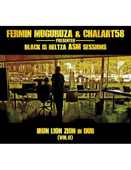 Black is beltza ASM sessions - CD