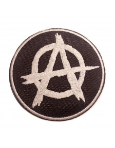 Parche de la A anarquista circulada
