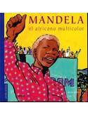Mandela el africano multicolor