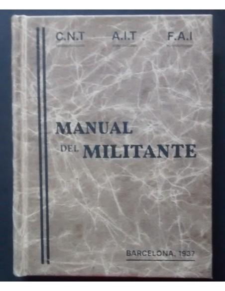 Manual del Militante de la CNT de Cataluña de 1937
