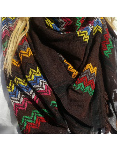 Pañuelo palestino auténico ( Kufiya) Handala