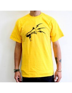 Camiseta del M15M Bizkaia - Amarilla