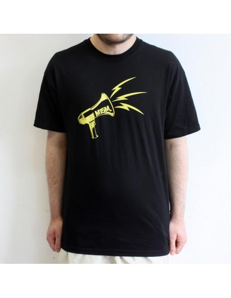 Camiseta del M15M Bizkaia - Negra