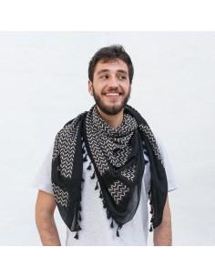 """Pañuelo palestino auténtico (Kufiya) """"Fadwa Touqan"""""""