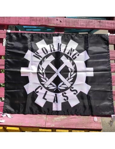Bandera Working Class con Martillos