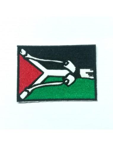 Parche Palestina con tirachinas